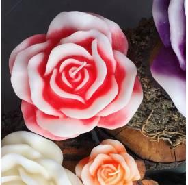 vela-rosa-L-vela-decoración