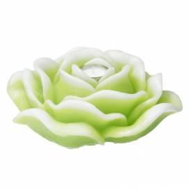 vela-rosa-XL-verde-vela-decoración