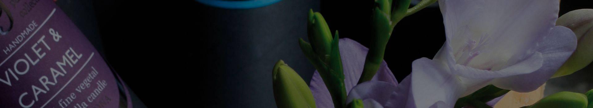 Velas perfumadas. Velas de miel. Velas de cera vegetal