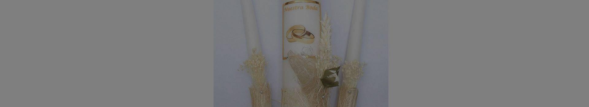 velas de ceremonia para boda-cereria pinsart